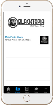 Blacktopia iPhone App