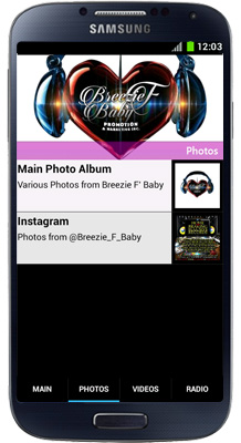 Breezie F Baby Android App