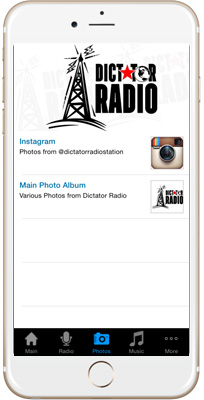 Dictator Radio iPhone App