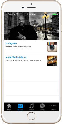 DJ I Rock Jesus iPhone App