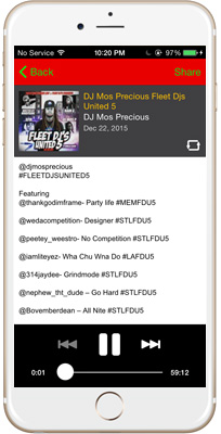 DJ Mos Precious iPhone App