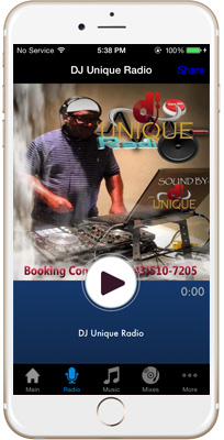 Power 101 Jamz iPhone App