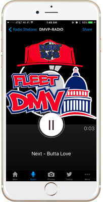 DMV FLEET DJ'S iPhone App