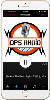 The Real DPS Radio iPhone App