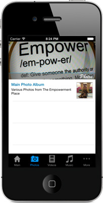 The Empowerment Place iPhone App