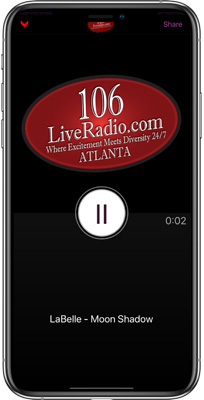 106 Live Radio iPhone App