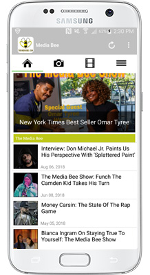 Media Bee Android App