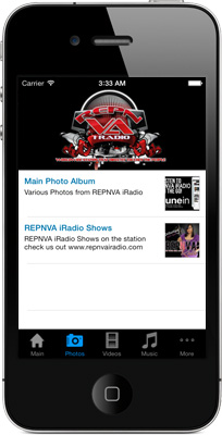 REPNVA iRadio iPhone App