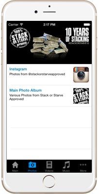 Stack or Starve Approved iPhone App