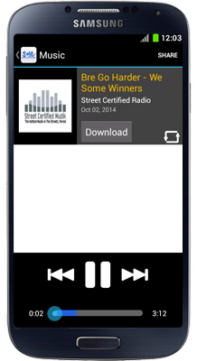 Street Certified Radio Android App