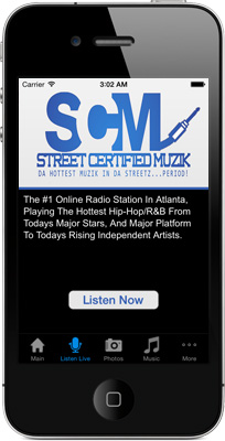 Street Certified Radio iPhone App