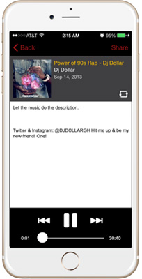 DJ Dollar iPhone App