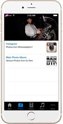 DJ Slim iPhone App