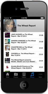 The Wheat Report iPhone App