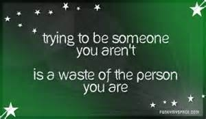 Be Your Own Person...