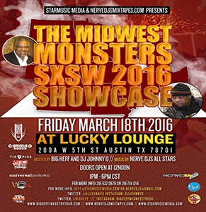 NerveDJs 5th Annual SXSW Soundstage