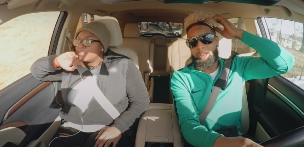 Odell Beckham Takes Passengers For A Ride Posing As A 'Lyft' Driver (Video)
