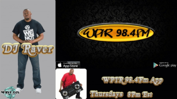 "DJ Raver:  ""The Pop Off Party #Mixshow"" on WPIR 98.4 FM"