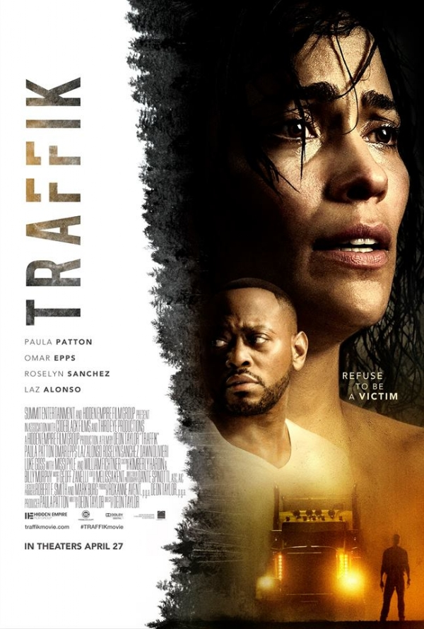 'Traffik' starring Omar Epps, Paula Patton, Laz Alonso and Roselyn Sanchez [TRAILER]