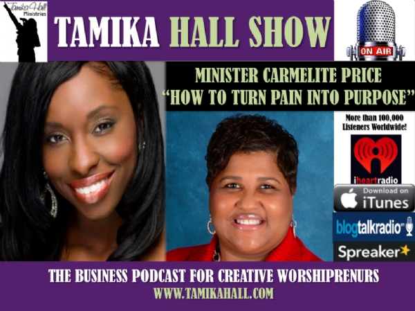 #35 Carmelite Price shares How to Turn your Pain into Purpose!