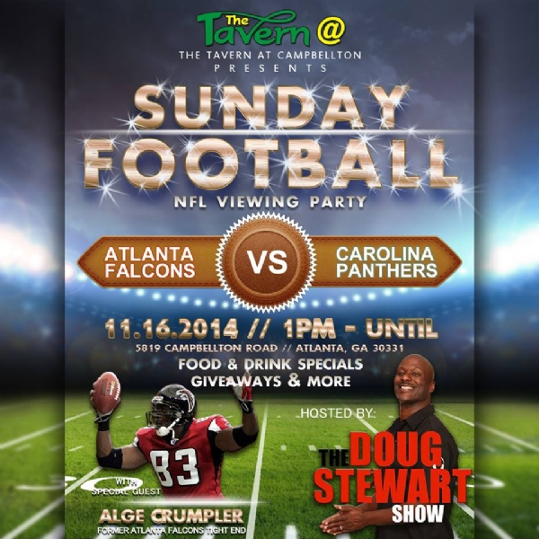 Doug Stewart presents...Sunday Football Viewing Party