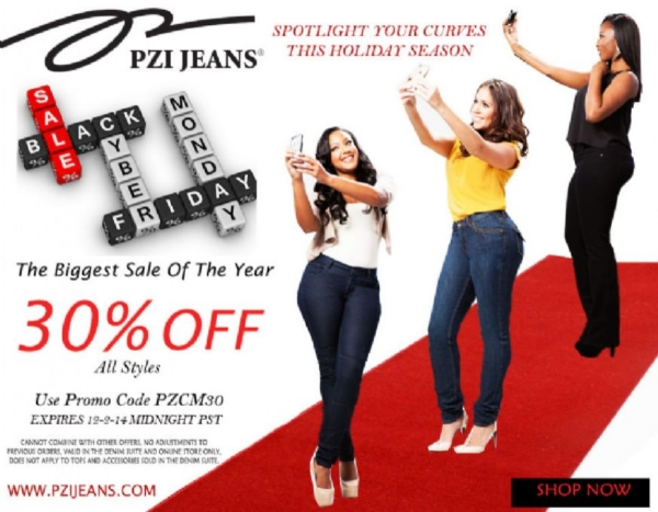 PZI JEANS BLACK FRIDAY CYBER MONDAY SALE STARTS TODAY: SHOP NOW!!!