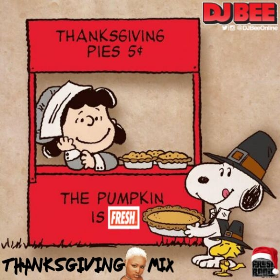 9p ET Join DJ Bee as we go LIVE during your Thanksgiving EVE kitchen work!