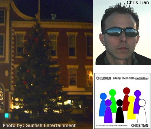 Chris Tian Sticks Up for Christmas in Portsmouth, New ...