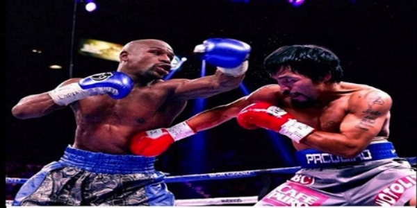 The Pac-Man Takes Jab At Mayweather