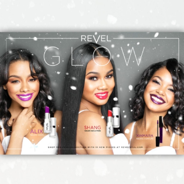 NEW COLLECTION FROM REVEL BY JL CAPTURES IRIDESCENT GLOW OF WINTER