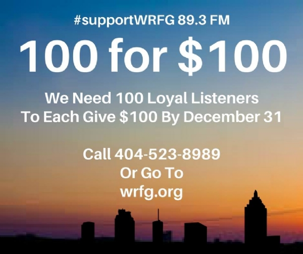 We need 100 Loyal Listeners To #SupportWRFG