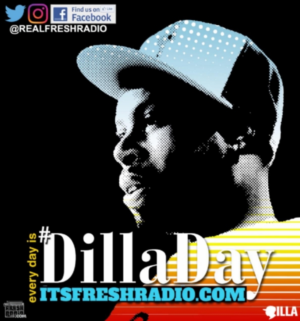 #DillaDay begins at Midnight ET ALL DILLA-ALL DAY