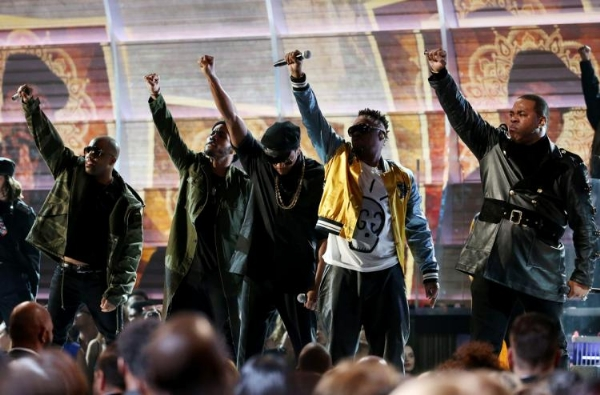 WATCH: A Tribe Called Quest & Company Perform at the 2017 Grammys by @milfence
