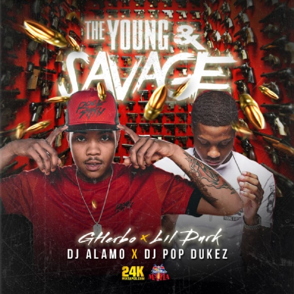 "G-Herbo x Lil Durk - ""The Young & Savage"" mixtape out now on #24kmixtapes"