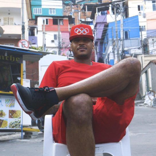 Stay Melo: Carmelo Anthony Explores Rio And Its Favelas (Video)