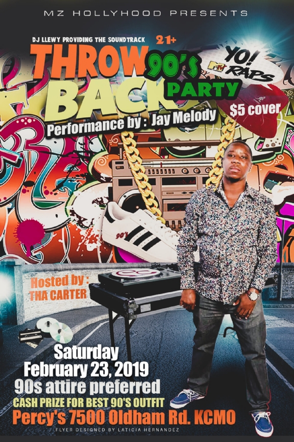 KCMIXTAPESRADIO ADS: **** Throwback 90's Party   ****