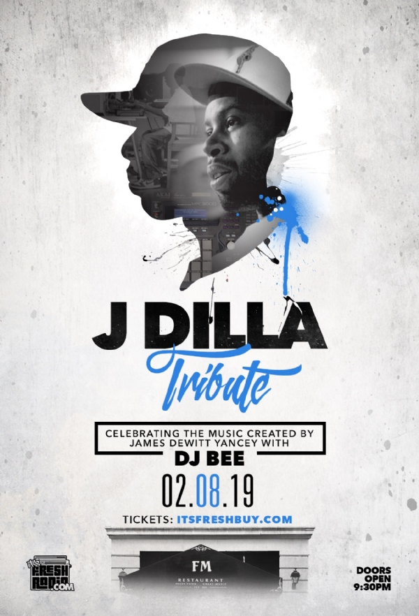 TONIGHT: 8th Annual #JDilla Tribute @fmongranby