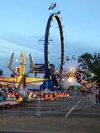 Atlanta Fair open now through April 6th-Turner Field Grey Lot