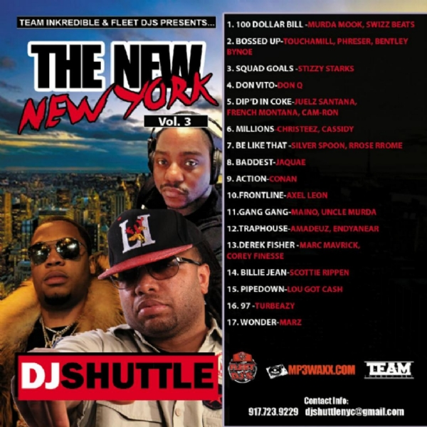 DJ Shuttle  NEW N.Y. VOL 3