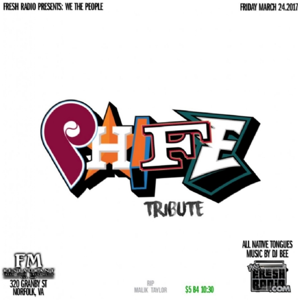 This Friday @FMonGranby we celebrate the life of PHIFE!!!