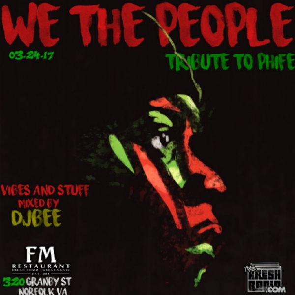 Fresh In Peace Malik Izaak Phife Dawg Taylor 1 year later! Tune in NOW and through overnight...