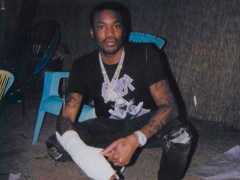 Meek Mill's Broke Hand Is Changing His Daily Habits