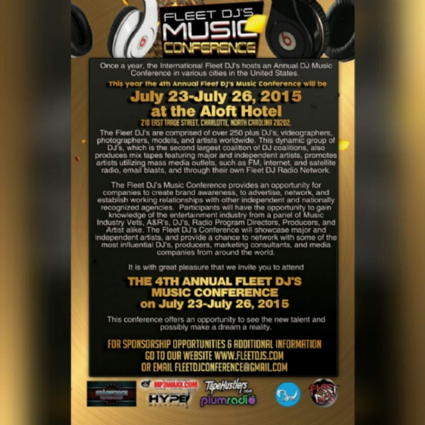 4th Annual Fleet DJ Music Conference