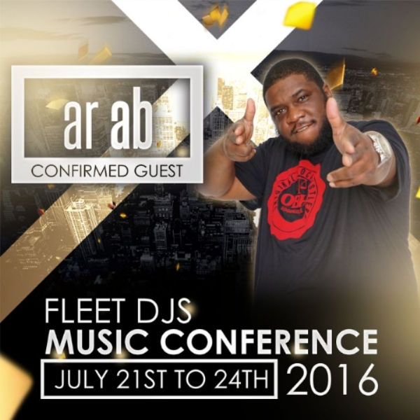 CONFIRMED FOR THE FLEET DJ MUSIC CONFERENCE AR AB JULY 21ST TO 24TH IN CHARLOTTE N.C