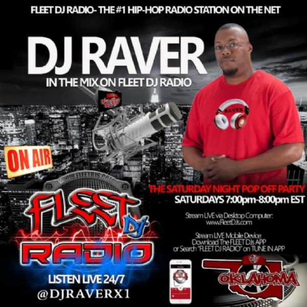 """The Pop Off Party Mix with DJ Raver"" on Fleet DJ Radio"