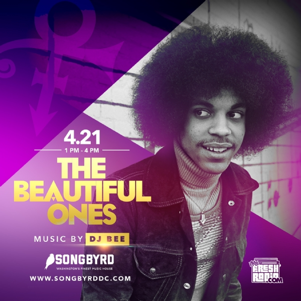 This Saturday 04.21 | 2 Parties, 2 Cities #theBeautifulOnes Honoring Prince