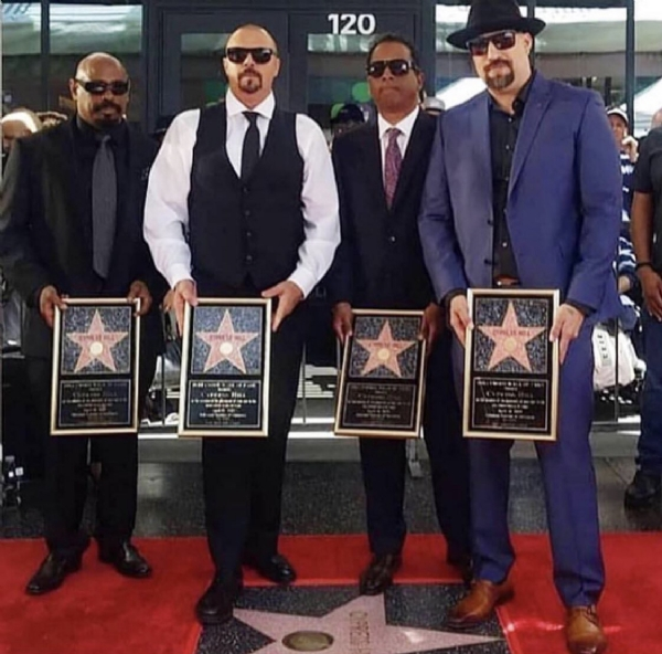 Cypress Hill Gets That Star On The Walk Of Fame!