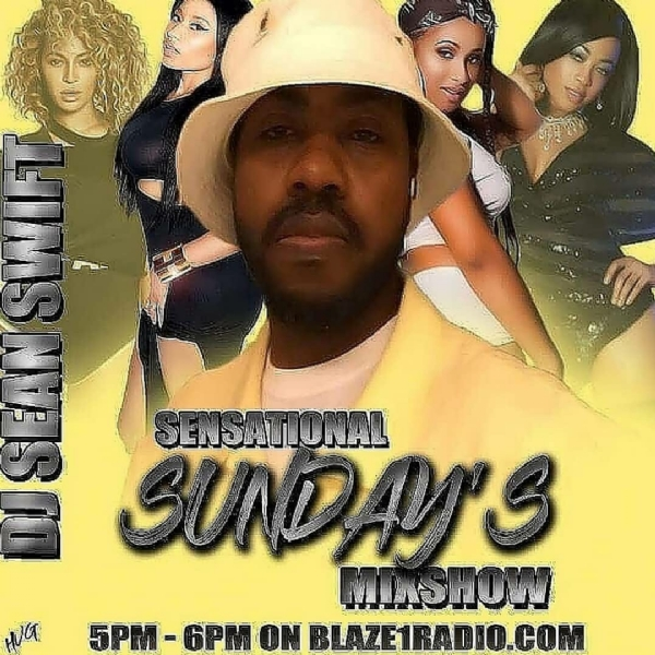 Good Music! Good Vibes! On This Easter Sunday! On The Dj Sean Seems MixShow! Sensational Sunday's!