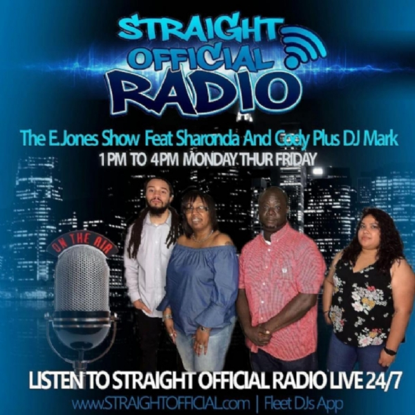 """NEW SHOW ALERT"" THE E.JONES SHOW feat. DJ MARK"