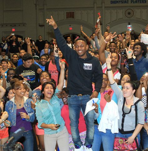 Kendrick Lamar Becomes A High School Principal For A Day